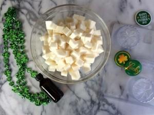 St. Patrick's Day Soap 2