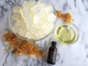 Peppermint Calendula Soap Recipe 2