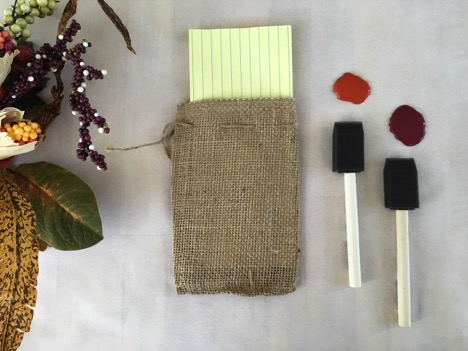 DIY Festive Flatware Bags 4