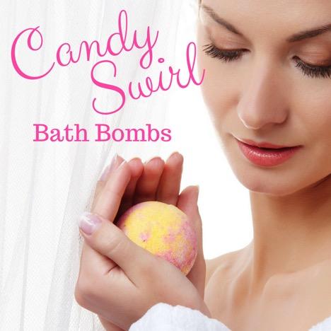 Candy Swirl Bath Bombs Recipe 1