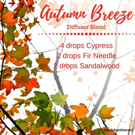 Autumn Breeze Diffuser Blend Recipe