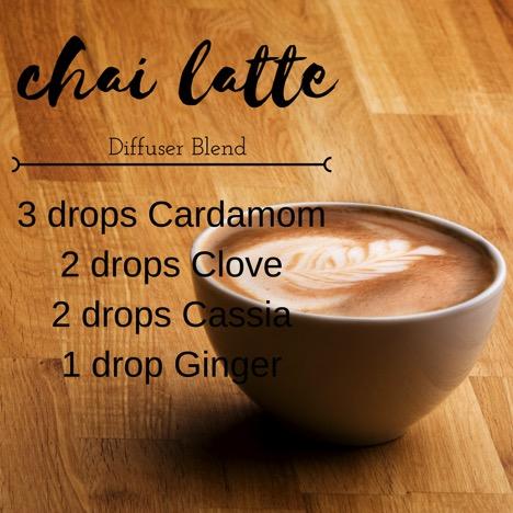 Chai Latte Diffuser Blend Recipe 1