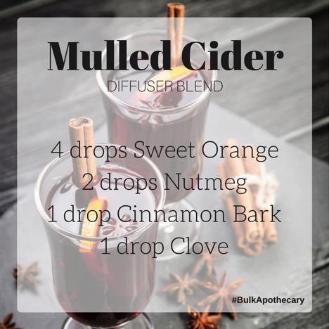 Mulled Cider Diffuser Blend Recipe 1