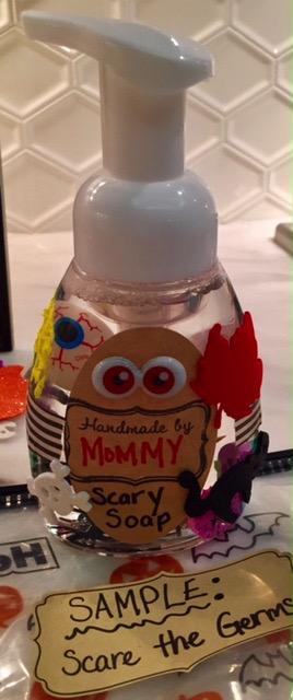 Scary Soap Halloween Craft Recipe 7