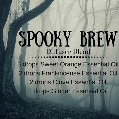 Spooky Brew Diffuser Blend Recipe