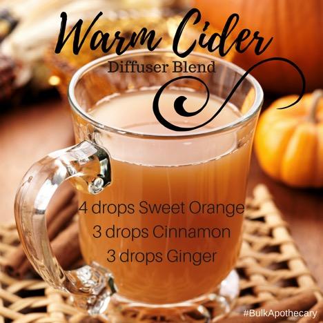 Warm Cider Diffuser Blend Recipe