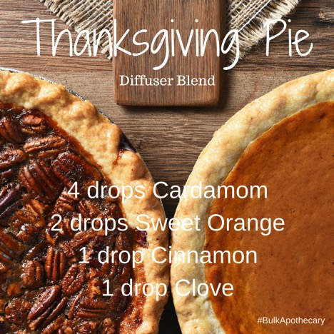 Thanksgiving Pie Diffuser Blend