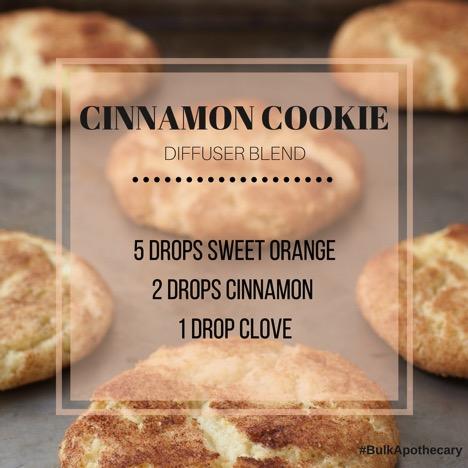 Cinnamon Cookie Diffuser Blend Recipe