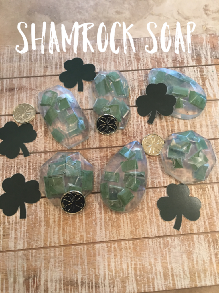 Shamrock Soap Recipe 1