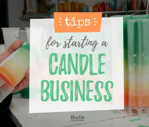 Tips for starting a candle business