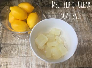 Lemon Rosemary Soap 3