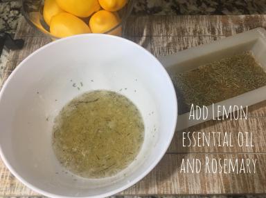 Lemon Rosemary Soap 4