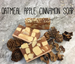 Oatmeal Apple Cinnamon Soap Recipe 1