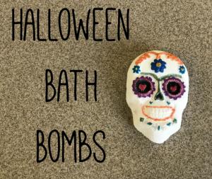 Halloween Bath Bombs Recipe 1